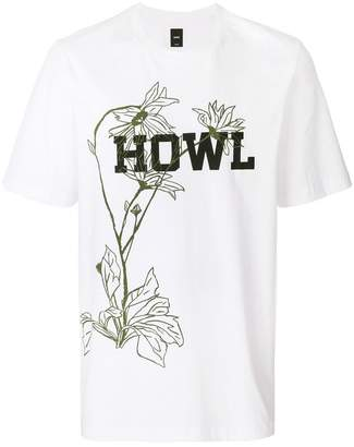 Oamc Howl slogan T-shirt