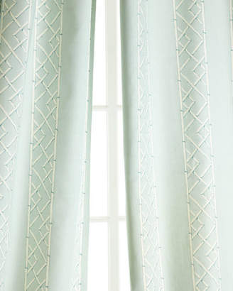 "Legacy Two 108""L Lattice Curtains"