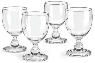 Dansk Set of 4 Hanna Goblets - Clear