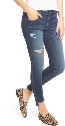 1822 Denim Step Hem Skinny Jeans