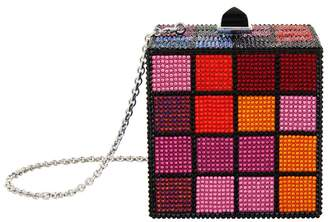 Judith Leiber Rubix Cube Crystal Clutch