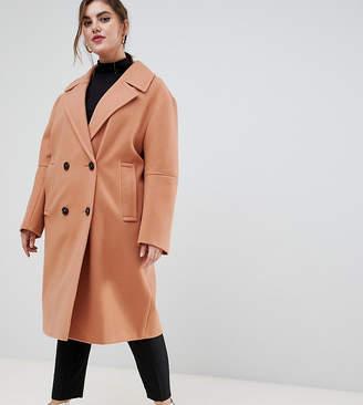 Asos Design DESIGN Curve classic coat