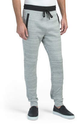 Double Knit Welt Pocket Joggers