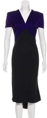 Stella McCartney Structured Midi Dress