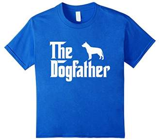 The Dogfather Pit bull T-Shirt Funny Father Dog Lover Gift