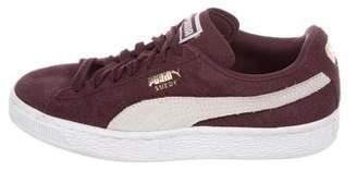 Puma Suede Low-Top Sneakers