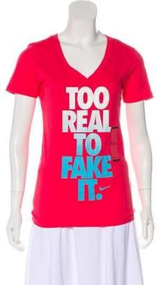Nike Graphic Print Short Sleeve T-Shirt w/ Tags