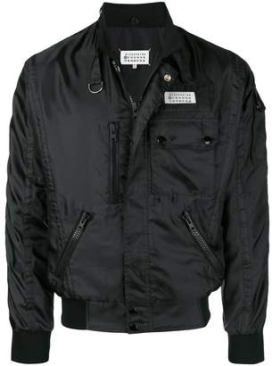 Maison Margiela multi-pocket bomber jacket