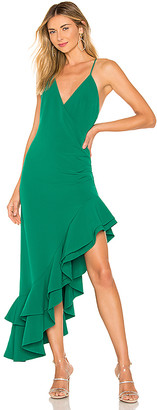 Lovers + Friends Evergreen Gown
