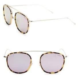 Illesteva Mykonos 52MM Aviator Sunglasses