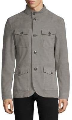 Michael Kors Suede Field Jacket