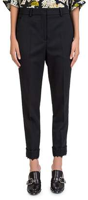 The Kooples Tapered Lace-Cuff Pants