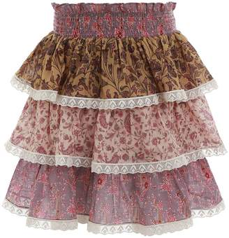 Zimmermann Juniper Tiered Skirt