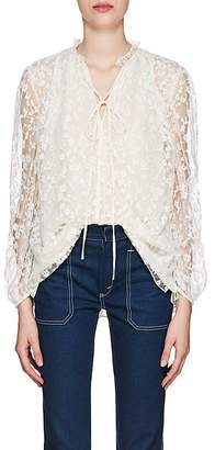 Chloé Women's Lace Tieneck Top