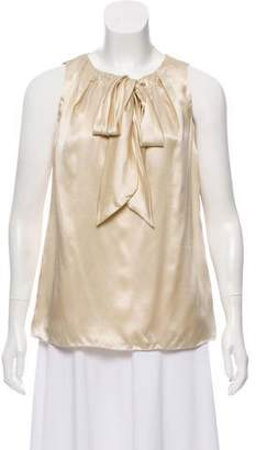 Magaschoni Sleeveless Silk Top w/ Tags