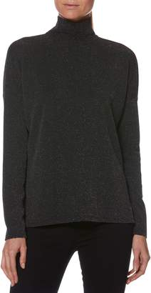 Paige Darby Metallic Turtleneck Sweater
