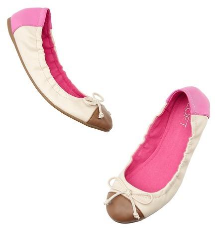 Farah Cap Toe Ballet Flats