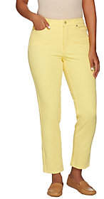 Isaac Mizrahi Live! Regular 24/7 Colored DenimAnkle Jeans