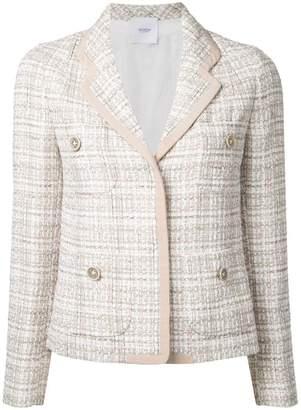 Agnona woven blazer