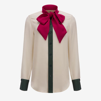 Pussy-Bow Blouse $995 thestylecure.com