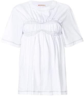 Marni ruched bust T-shirt