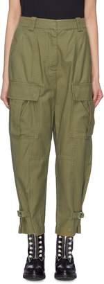 3.1 Phillip Lim Cuff epaulette zip panel utility cargo pants