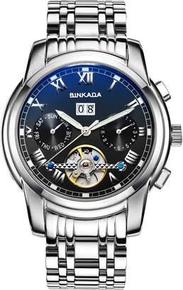 Gents BINKADA Self-motion Dial Men's Wrisr Watch L01-2