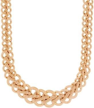 """Italian Gold 20"""" Bold Woven Necklace, 14K Gold, 34.4g"""