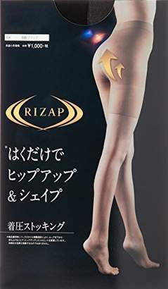 Gunze (グンゼ) - [グンゼ]ストッキング ≪RIZAP≫ライザップ ヒップ&シェイプ着圧 RZ101 ウィメンズ ブラック 日本 M (日本サイズM相当)