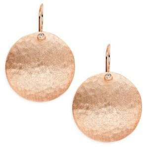Rivka Friedman Disc Drop Earrings