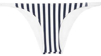 Heidi Klein Bb Striped Bikini Briefs - White