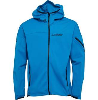 at MandMDirect.com · adidas Mens TERREX Radical Fleece Jacket Bold Aqua 8c077cf767