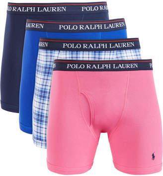 Polo Ralph Lauren Men 4-Pk. Knit Cotton Boxers