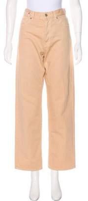 Dries Van Noten High-Rise Straight-Leg Jeans w/ Tags
