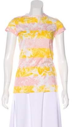 Stella McCartney Jersey Floral Print Top