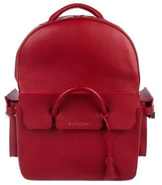 Buscemi PHD Leather Backpack Amaranto PHD Leather Backpack
