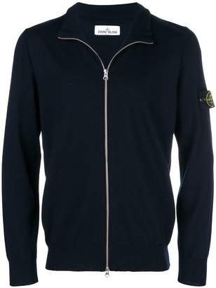 Stone Island zipped long-sleeve sweater