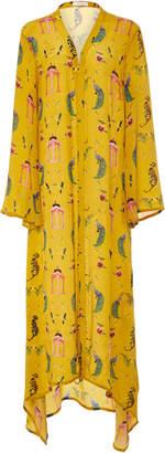 VERANDAH Hand Beaded Boho Luxe Kimono