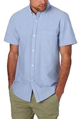 Swell Shirts Short Sleeve Dress Shirt - Sky