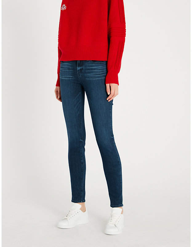 Verdugo cropped mid-rise skinny jeans