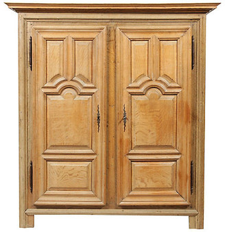 One Kings Lane Vintage Antique Louis XIII-Style Armoire - Blink Home Vintique
