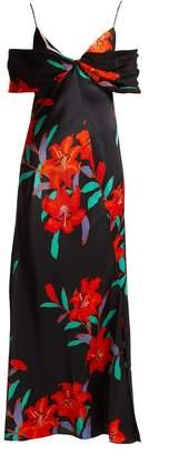 Diane von Furstenberg Argos floral-print silk-satin dress