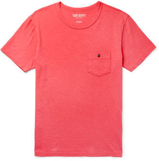 Todd Snyder Slub Cotton-Jersey T-Shirt