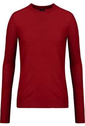 Joseph Asymmetric Wool Sweater