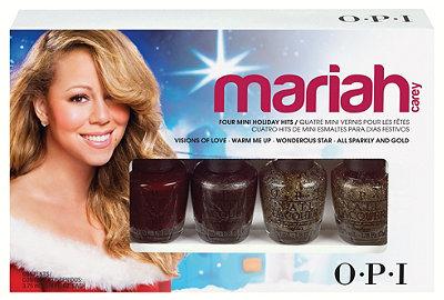 OPI Mariah Carey Four Mini Holiday Hits