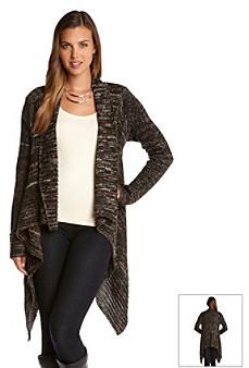Karen Kane Open Front Drape Sweater