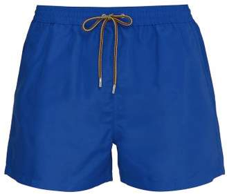 Paul Smith Classic Fit Swim Shorts - Mens - Blue