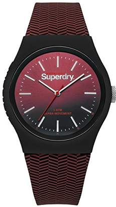 Superdry Urban Quartz Watch with Silicone Strap