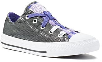 Kid's Converse Chuck Taylor All Star Loopholes Metallic Shimmer Shoes $45 thestylecure.com
