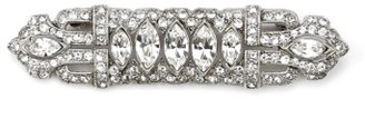 Women's Ben-Amun Art Deco Crystal Brooch $220 thestylecure.com